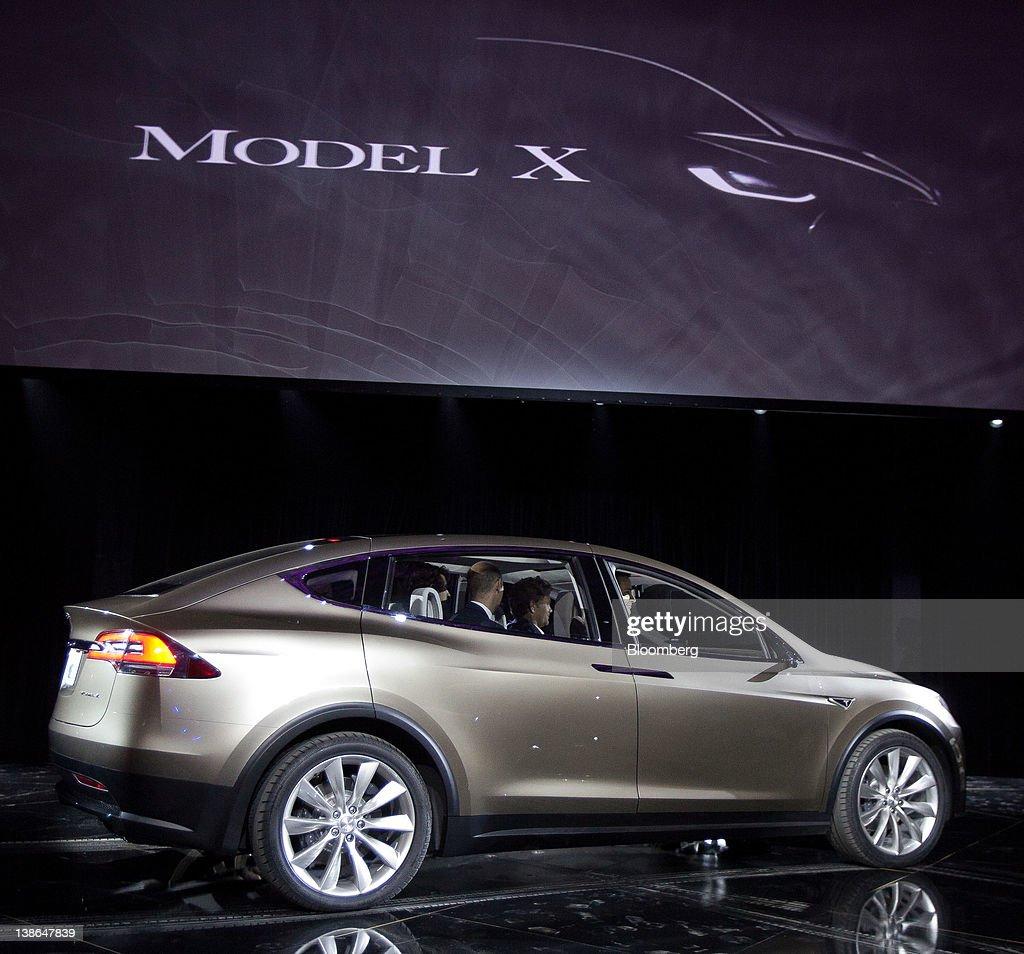 Tesla Motors CEO Elon Musk Unveils Model X Photos And Images - About tesla motors