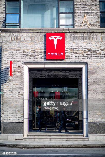 Tesla Motors store in Hangzhou downtown Tesla Motors is an American automotive and energy storage company selling luxury electric cars and battery...