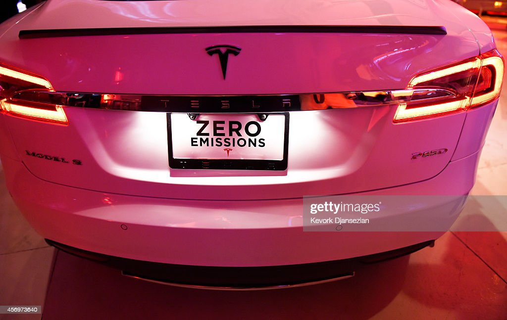 Telsa CEO Elon Musk Unveils New Vehicle : News Photo