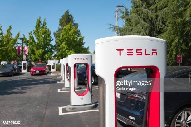 tesla supercharger - supercharged engine stock pictures, royalty-free photos & images