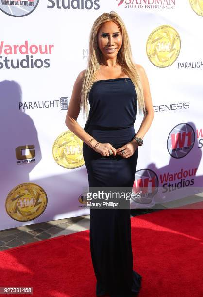Tess Broussard attends Hollywood Stars Gala Academy Awards Viewing Party at Waldorf Astoria Beverly Hills on March 4 2018 in Beverly Hills California