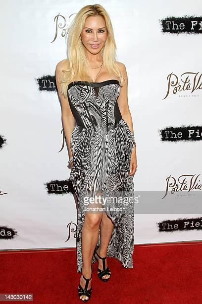 Tess Broussard attends the The Fields World Premiere From Breaking Glass Productions Starring Cloris Leachman And Tara Reid at Laemmle's Music Hall...