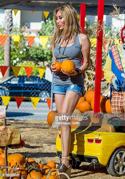 Tess Broussard is seen on October 20 2016 in Los Angeles California