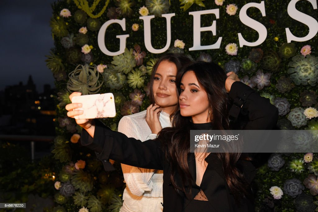 Tess Christine and Camila Cabello attend GUESS NYFW Fall Fashion Event at Public Hotel on September 13, 2017 in New York City.