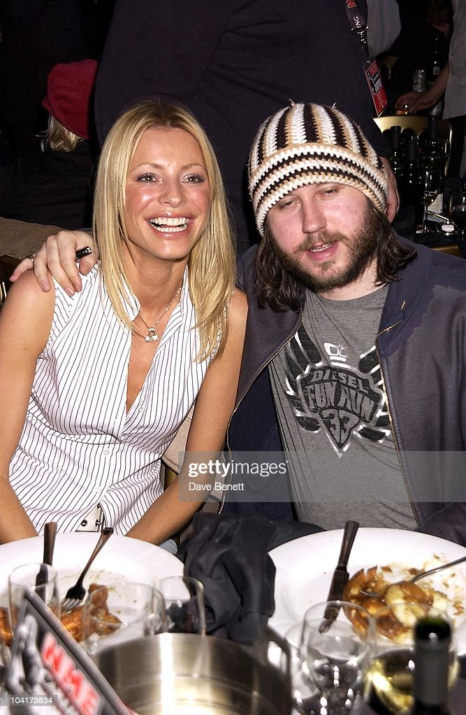 Tess Daley With Badly Drawn Boy, Nme Carling Awards 2002, In Shoreditch, London
