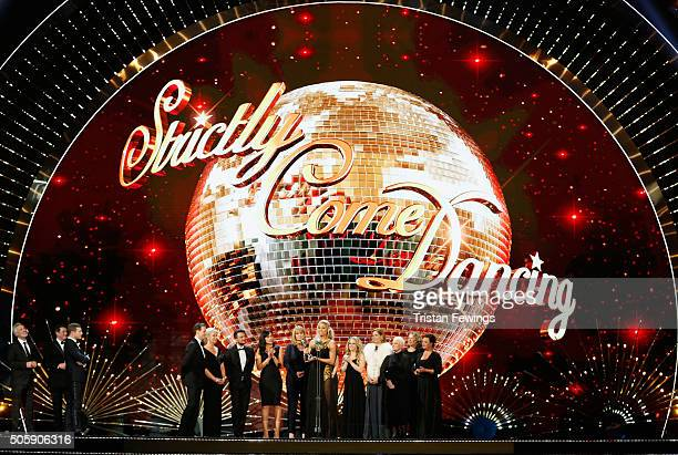 Tess Daly accepts the award for Best Talent Show for Strictly Come Dancing at the 21st National Television Awards at The O2 Arena on January 20 2016...