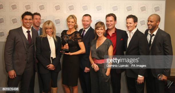 Tess Daly and contestants from 'Strictly Come Dancing' Rav Wilding James Jordan Jo Woods Ricky Groves Kate Garraway Richard Arnold Brendan Cole Ricky...