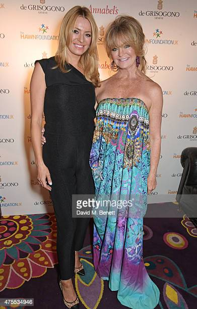 Tess Daly and Goldie Hawn attend 'Goldie's LoveIn For The Kids' the 4th annual Hawn Foundation UK fundraising dinner hosted by Goldie Hawn and Kate...