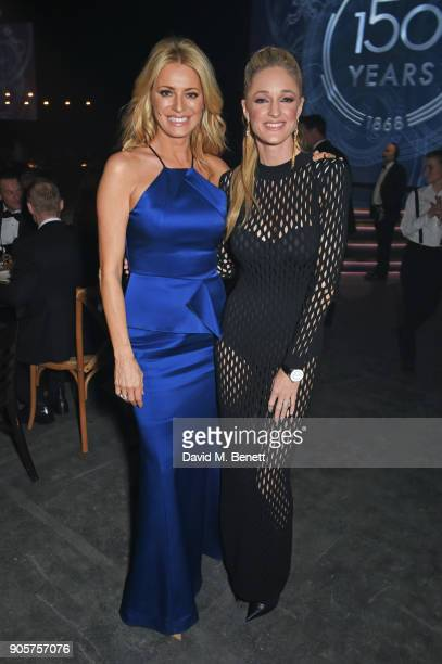 Tess Daly and Storm Keating attend the IWC Schaffhausen Gala celebrating the Maison's 150th anniversary and the launch of its Jubilee Collection at...