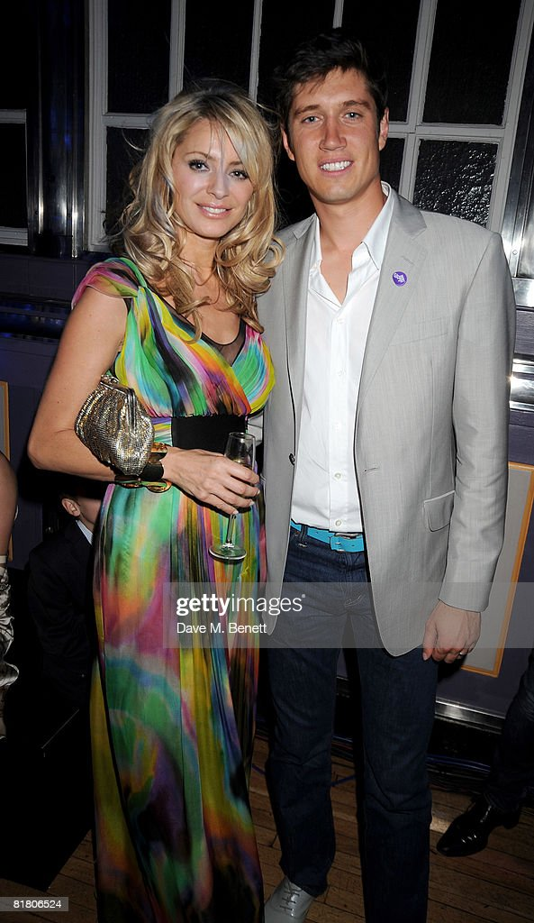 Tess Daly and Vernon Kay attend the F1 Party in aid of the Great Ormond Street Hospital, at the Bloomsbury Ballroom on July 2, 2008 in London, England.