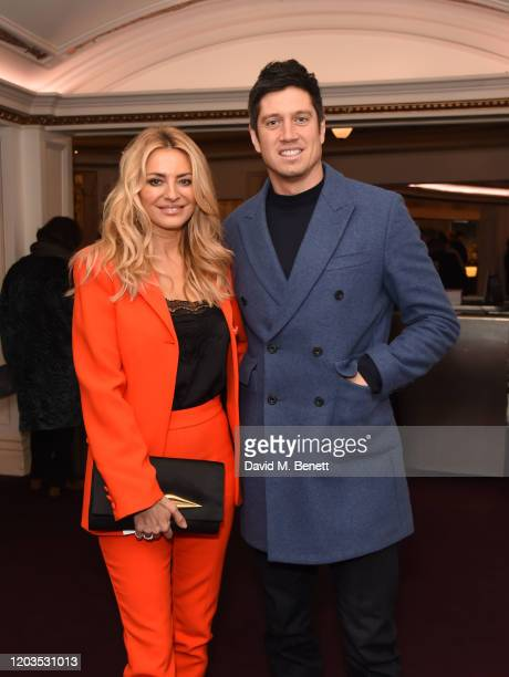 Tess Daly and Vernon Kay attend the press night performance of Madam Butterfly part of the English National Opera's 2019/20 season at The London...