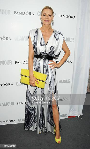 Tess Daly arrives at the Glamour Women of the Year Awards in association with Pandora at Berkeley Square Gardens on May 29 2012 in London England