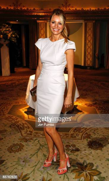 Tess Daly arrives at the TV Quick TV Choice Awards Held at the Dorchester Hotel on September 8 2008 in London England