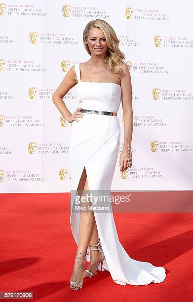 Tess Daly arrives for the House Of Fraser British Academy Television Awards 2016 at the Royal Festival Hall on May 8 2016 in London England