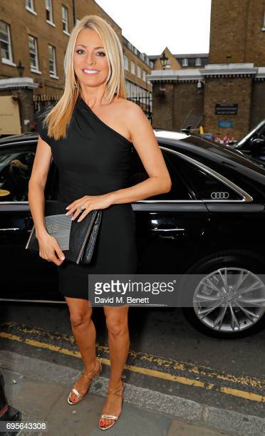 Tess Daly arrives in an Audi at the Summer Party 199 for The Old Vic on June 13 2017 in London England