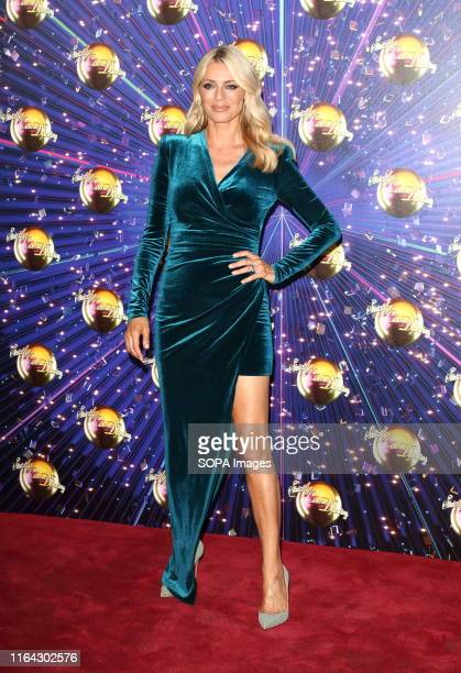 Tess Daly at the Strictly Come Dancing Launch at BBC Broadcasting House in London