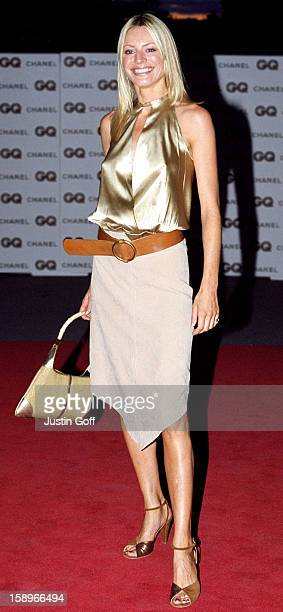 Tess Daly Attends The 2001 Gq Magazine 'Men Of The Year' Awards At London'S Victoria And Albert Museum
