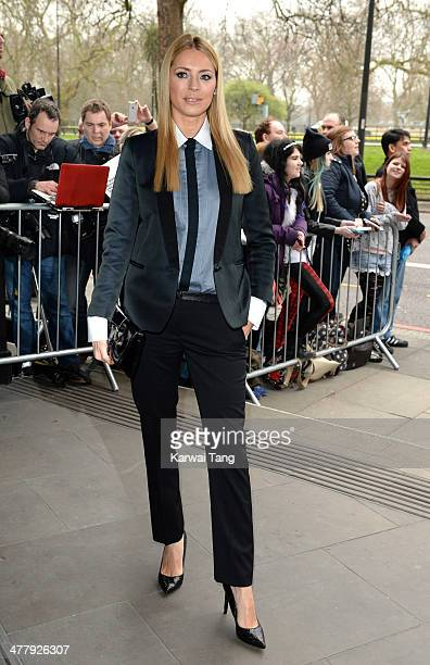 Tess Daly attends the 2014 TRIC Awards at The Grosvenor House Hotel on March 11, 2014 in London, England.