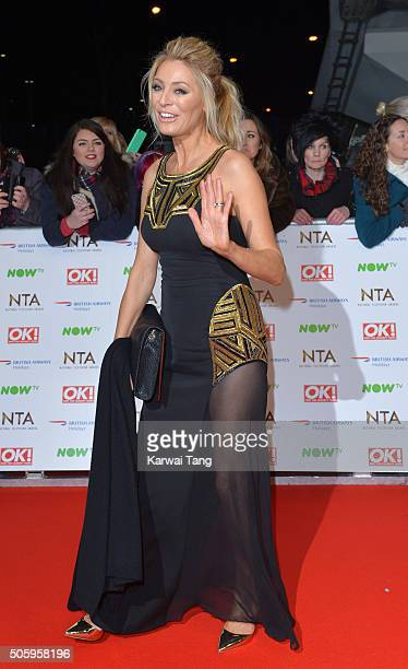 Tess Daly attends the 21st National Television Awards at The O2 Arena on January 20 2016 in London England