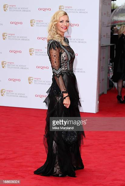 Tess Daly attends the Arqiva British Academy Television Awards 2013 at the Royal Festival Hall on May 12 2013 in London England