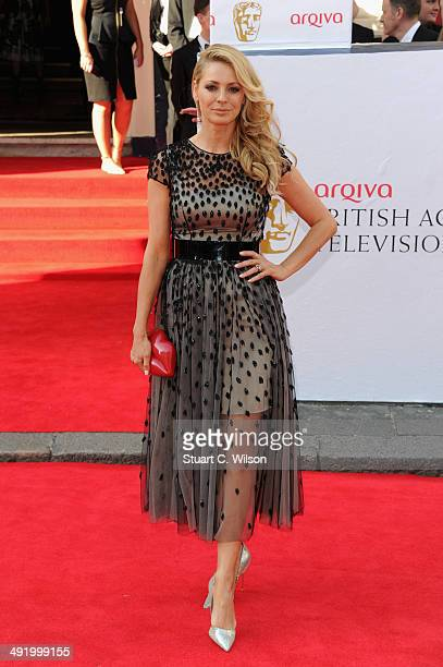 Tess Daly attends the Arqiva British Academy Television Awards at Theatre Royal on May 18 2014 in London England