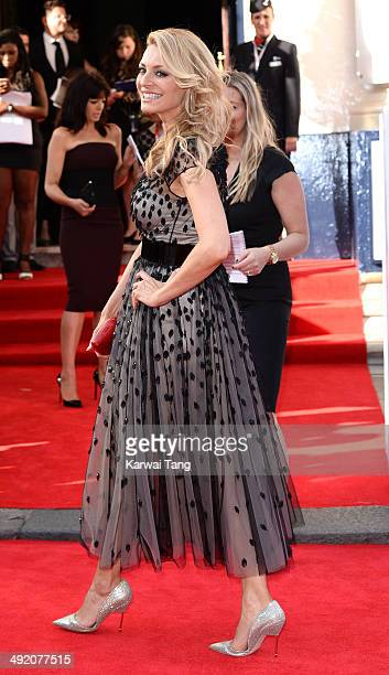 Tess Daly attends the Arqiva British Academy Television Awards held at the Theatre Royal on May 18 2014 in London England