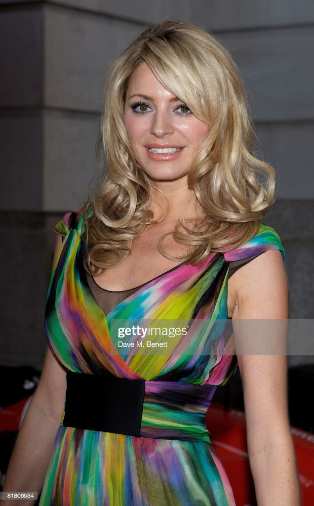 Tess Daly attends the F1 Party in aid of the Great Ormond Street Hospital, at the Bloomsbury Ballroom on July 2, 2008 in London, England.