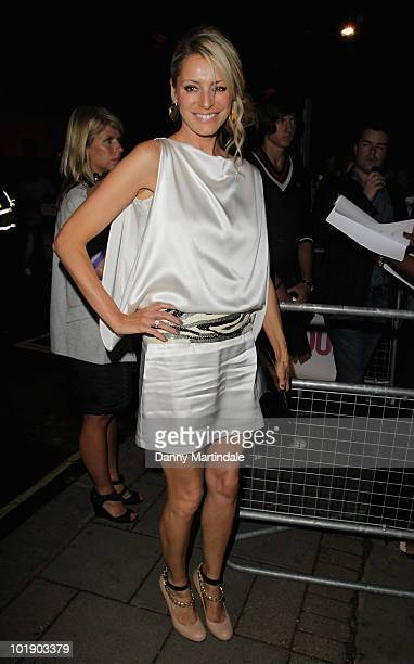 Tess Daly attends the Glamour Women of the Year awards at Berkeley Square Gardens on June 8 2010 in London England