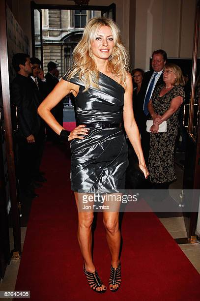 Tess Daly attends the GQ Men of the Year Awards held at the Royal Opera House Covent Garden on September 2 2008 in London England