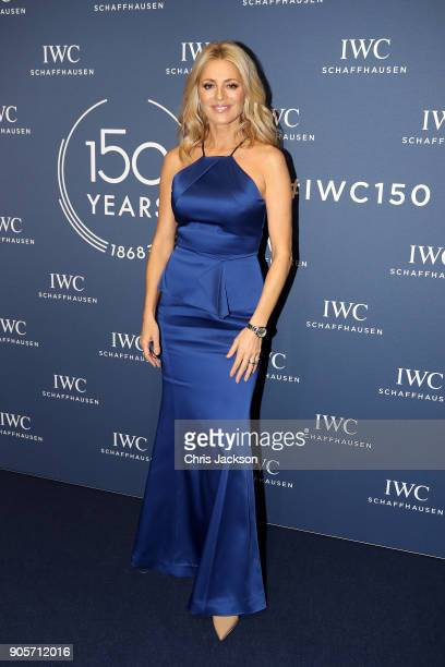 Tess Daly attends the IWC Schaffhausen Gala celebrating the Maison's 150th anniversary and the launch of its Jubilee Collection at the Salon...