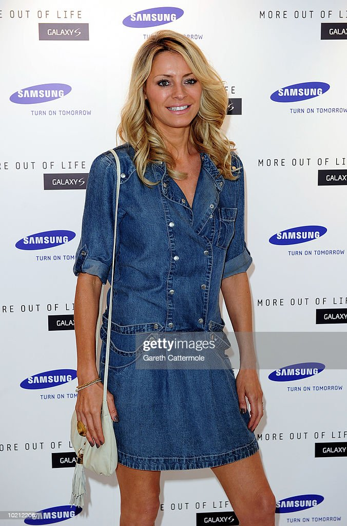 Tess Daly attends the launch of the Samsung Galaxy S Smartphone held at Altitude Bar on June 15, 2010 in London, England.