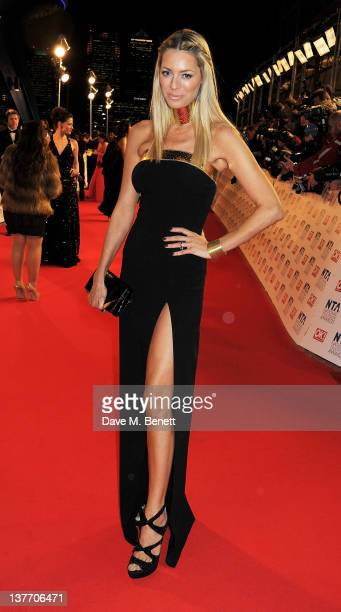 Tess Daly attends the National Television Awards 2012 at the O2 Arena on January 25 2012 in London England