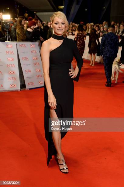 Tess Daly attends the National Television Awards 2018 at The O2 Arena on January 23 2018 in London England