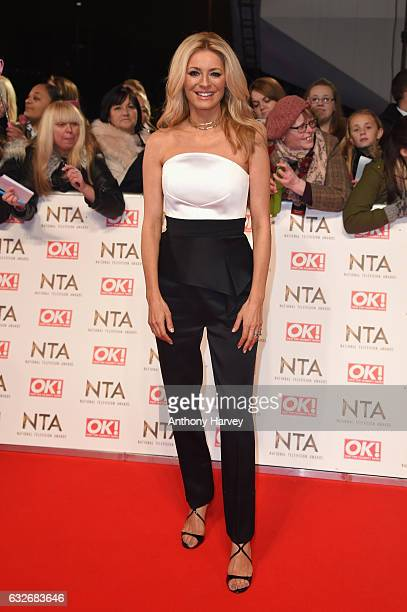 Tess Daly attends the National Television Awards on January 25 2017 in London United Kingdom