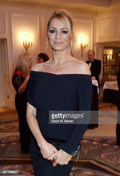 Tess Daly attends The Prince's Trust Invest In Futures dinner at The Savoy Hotel on February 6 2014 in London England