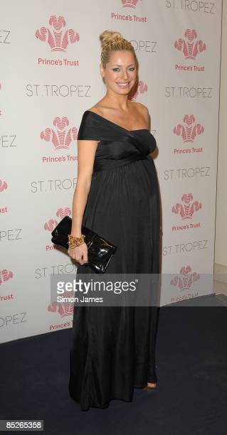 Tess Daly attends The Prince's Trust Spring Ball supported by St Tropez at The Hurlingham Club on March 5 2009 in London England