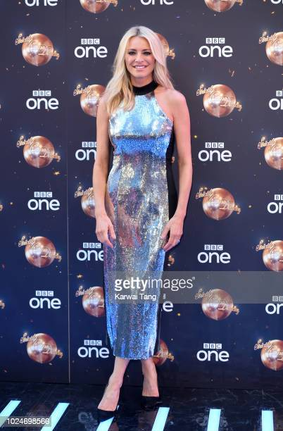 Tess Daly attends the red carpet launch for 'Strictly Come Dancing 2018' at Old Broadcasting House on August 27 2018 in London England