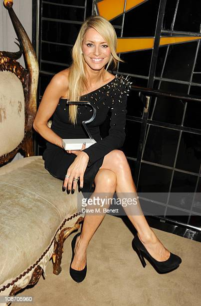 Tess Daly attends the Rodial BEAUTIFUL Awards 2011 hosted by Yasmin Mills in aid of The Hoping Foundation at the Sanderson Hotel on February 1 2011...