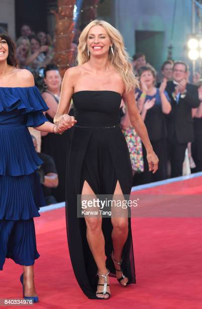 Tess Daly attends the 'Strictly Come Dancing 2017' red carpet launch at Broadcasting House on August 28 2017 in London England
