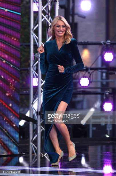 Tess Daly attends the Strictly Come Dancing launch show red carpet at Television Centre on August 26 2019 in London England