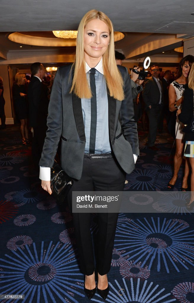 Tess Daly attends the TRIC Television and Radio Industries Club Awards at the Grosvenor House Hotel on 11, 2014 in London, England.