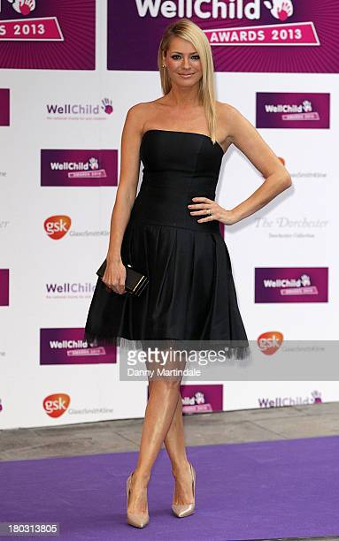 Tess Daly attends The WellChild Awards at The Dorchester on September 11 2013 in London England