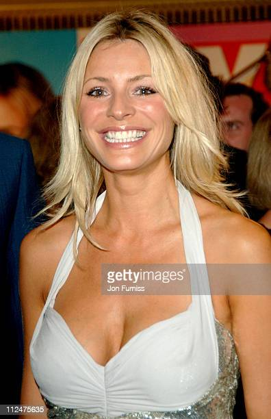 Tess Daly during 2005 TV Quick TV Choice Awards Inside at Dorchester in London Great Britain