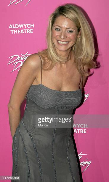 Tess Daly during Dirty Dancing The Classic Story on Stage Photocall at Café de Paris in London Great Britain