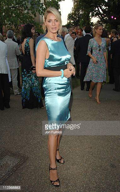Tess Daly during Serpentine Gallery Summer Party 2006 Inside at Serpentine Gallery in London Great Britain