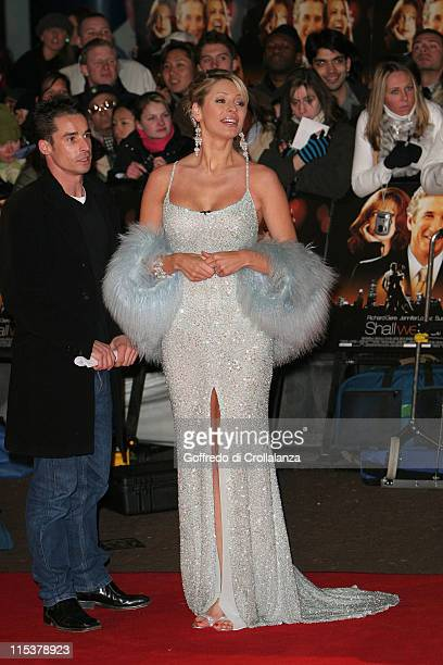 Tess Daly during Shall We Dance London Premiere Arrivals at Odeon West End in London United Kingdom