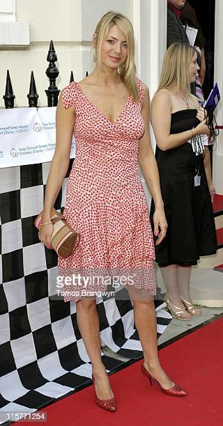 Tess Daly during The F1 Party in Aid of Great Ormond Street Hospital June 7 2006 at Duchess Palace in London Great Britain