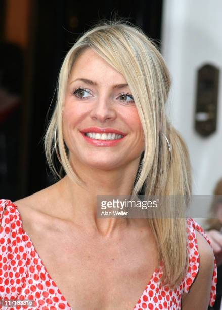 Tess Daly during The F1 Party Outside Arrivals at Royal Duchess Palace in London Great Britain
