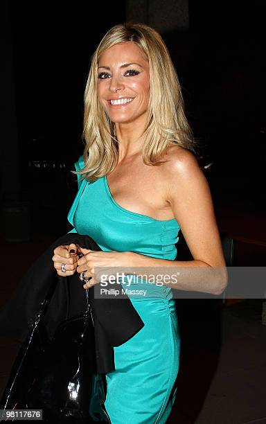 Tess Daly is sighted at the Late Late Show Studios on March 19 2010 in Dublin Ireland