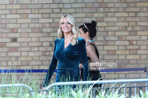 Tess Daly seen at Strictly Come Dancing red carpet launch show recording at Television Centre on August 26 2019 in London England